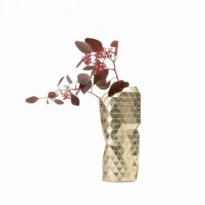 Tiny Miracles – Paper vase cover Gold