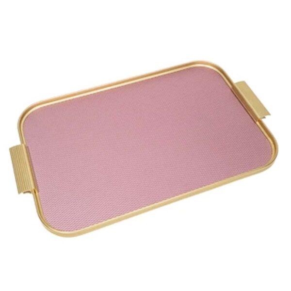 KAYMET - Vassoio Diamond Pink/Gold -S18