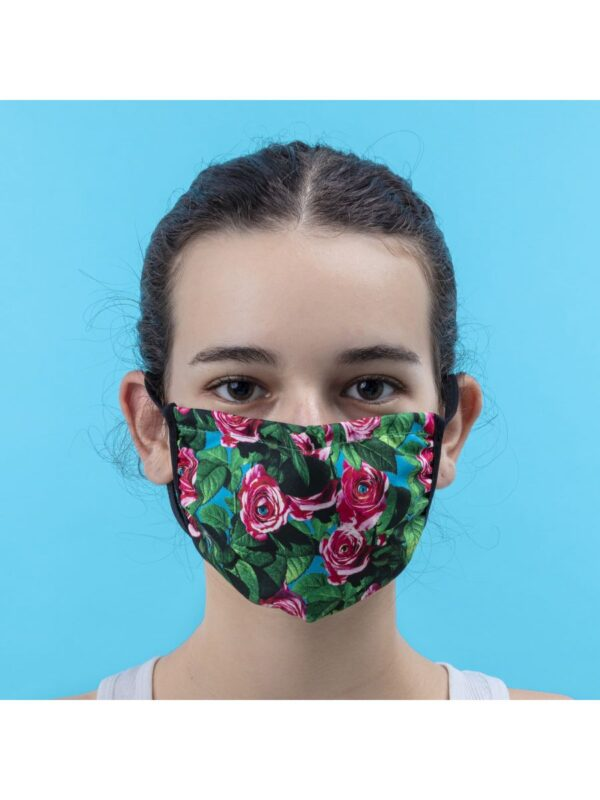 SELETTI- Facemask Roses Size S/M