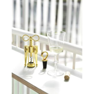 NORMAN COPENHAGEN – Porter Wine Stopper Brass