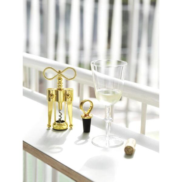 NORMAN COPENHAGEN - Porter Wine Stopper Brass