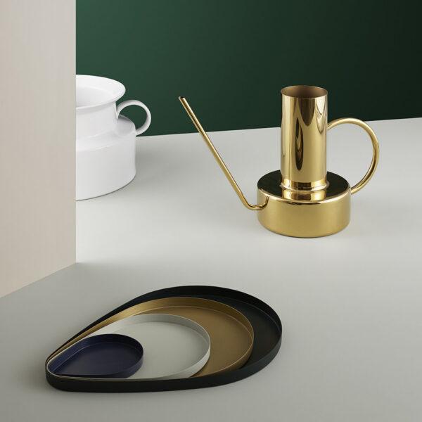 NORMAN COPENHAGEN - Peacock Tray - Brass - Medium