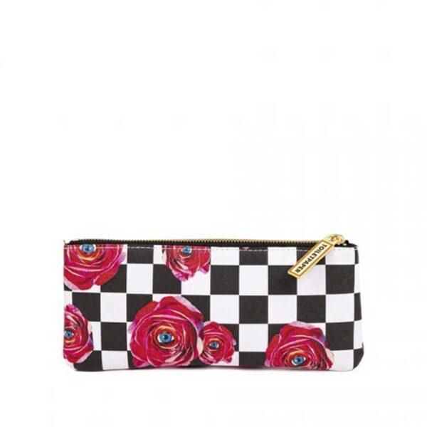 SELETTI- Toiletpaper Case Roses - Borsello