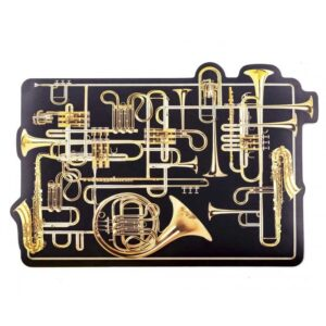 SELETTI- Toiletpaper  Tablemat Trumpets