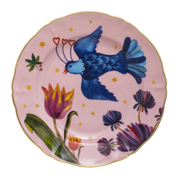 BITOSSI - Piatto frutta uccellino