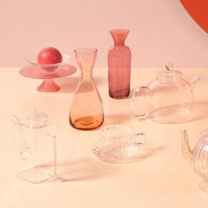 Bitossi Home – Bottiglia/Vaso rosa