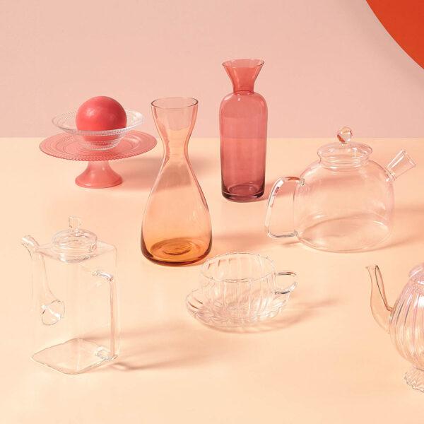 Bitossi Home - Bottiglia/Vaso rosa