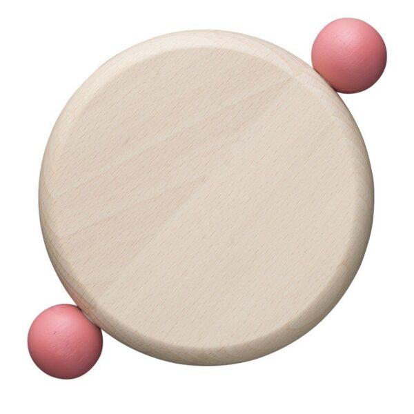 BITOSSI - Tagliere sottopentola Tondo - Bijoux Rosa