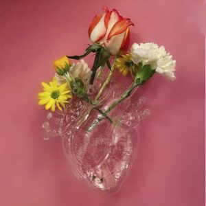 SELETTI Love in Bloom Glass