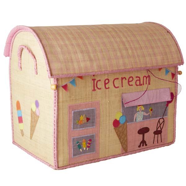 RICE DK - Cesto portagiochi Icecream - Large