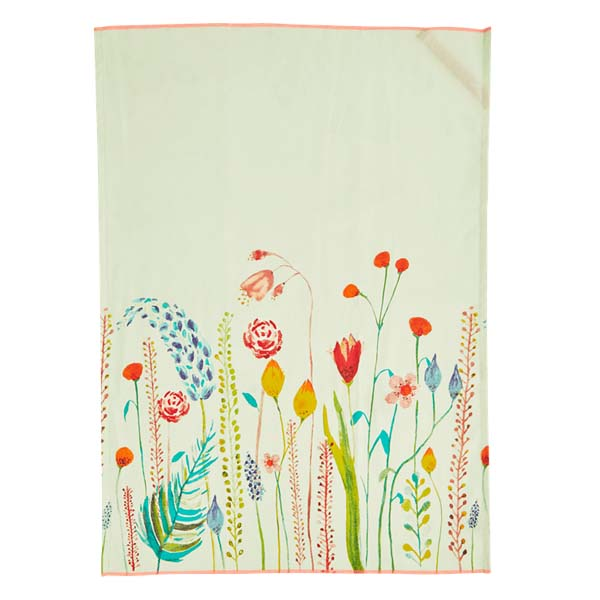 RICE DK - Tea Towel in cotone stampa Fiori
