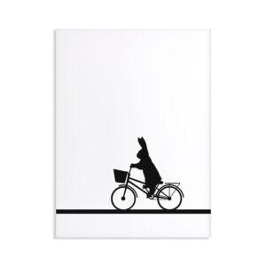HAM – City Bike Rabbit – Coniglio in bicicletta 30 x 40