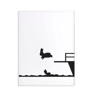 HAM – Diving Rabbit – Coniglio 30 x 40