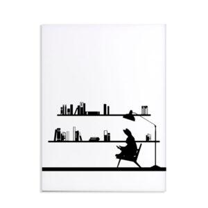 HAM – Reading Rabbit – Coniglio lettore 30 x 40