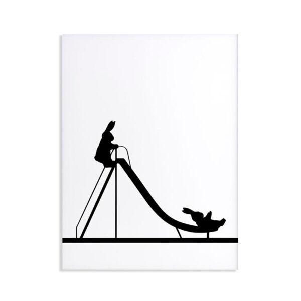 HAM - Sliding Rabbit - scivolo per bambini 30 x 40