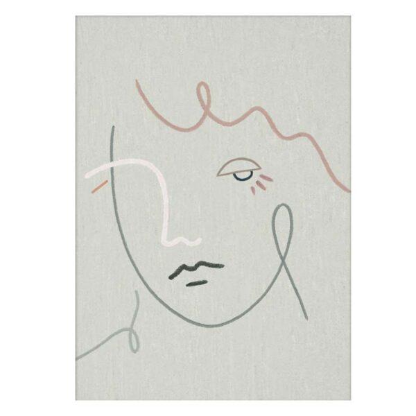 PAPER COLLECTIVE - Kit Agar Gertrude - 30 x 40