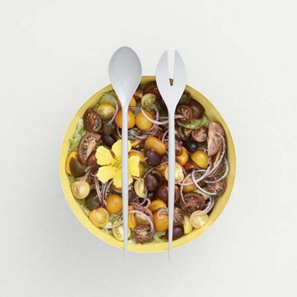 NORMAN COPENHAGEN - Posate per insalata - grigie