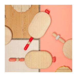 BITOSSI – Tagliere ovale – Bijoux Rosa