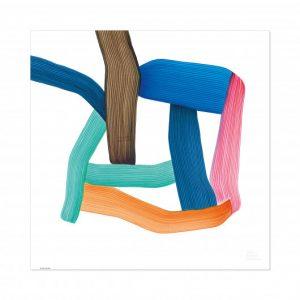 VITRA – Poster Multicolor Ronan Bouroullec – 67×67 cm