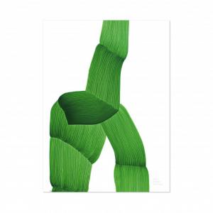 VITRA – Poster Green Ronan Bouroullec – 50×67,5 cm