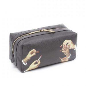 SELETTI- Toiletpaper  Wash Bag Lipstick